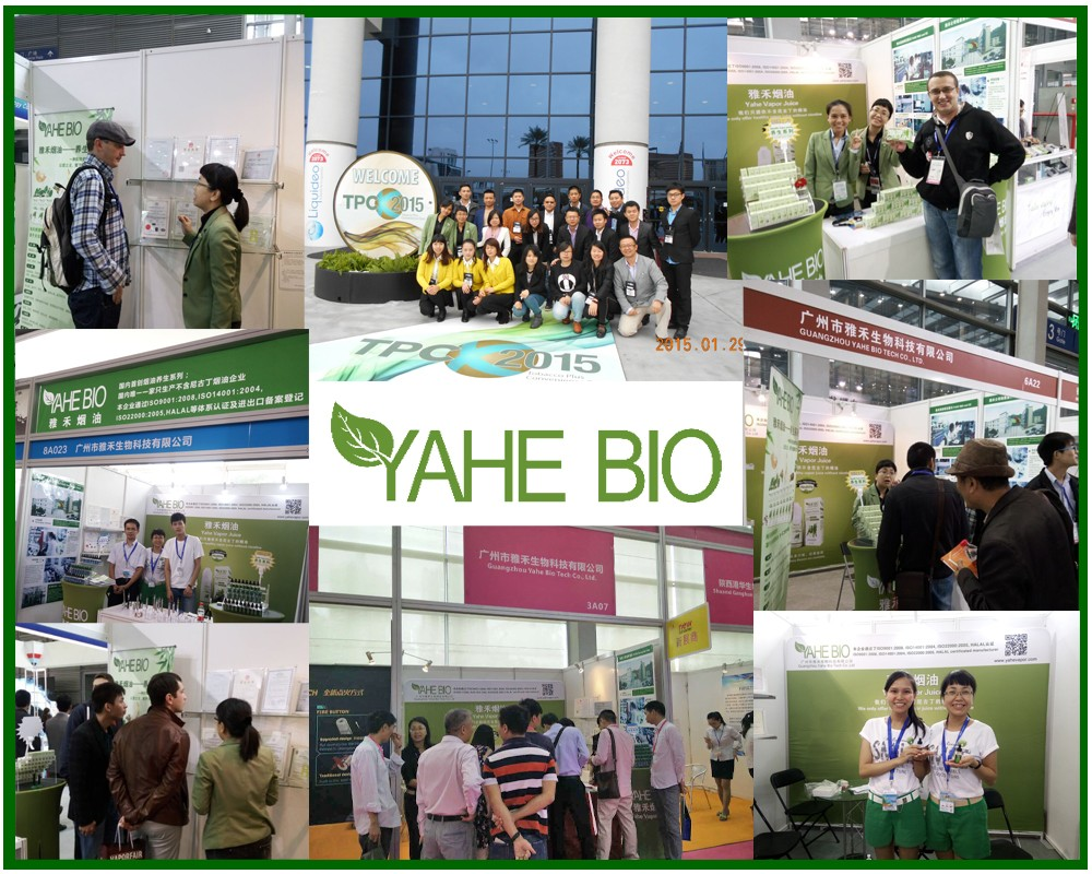 YAHE fragrance sales in Canton Fair
